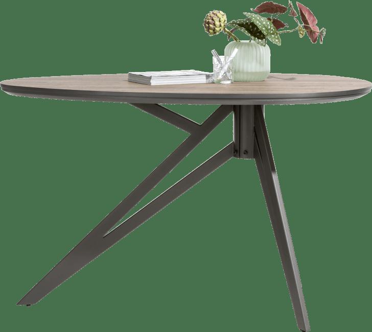 Domani - bartafel 150 x 100 cm - eivormig