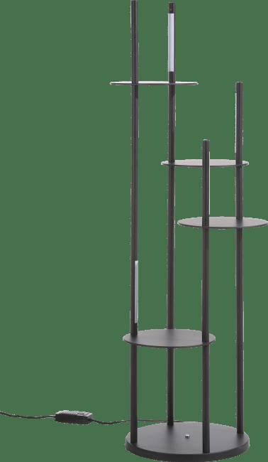 Coco Maison - tyler, vloerlamp 4-lamps - met plantentoren (geintegreerde led)