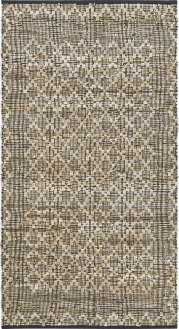 Coco Maison - carpet albury - 90 x 150 cm - leather