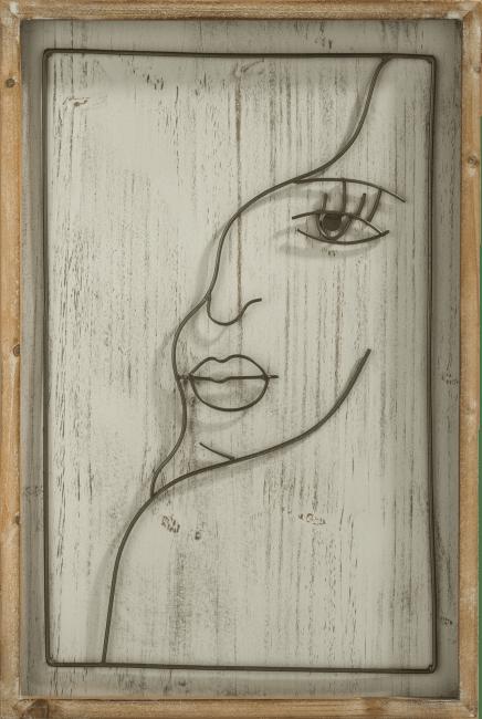 Coco Maison - wanddeco face - 40 x 60 cm