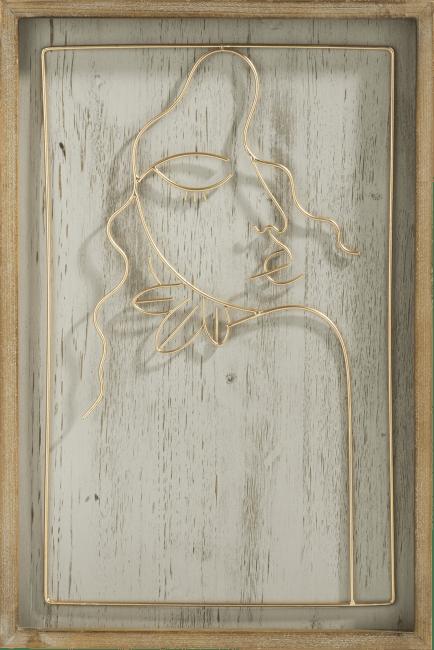 Coco Maison - wanddeco shoulder - 40 x 60 cm