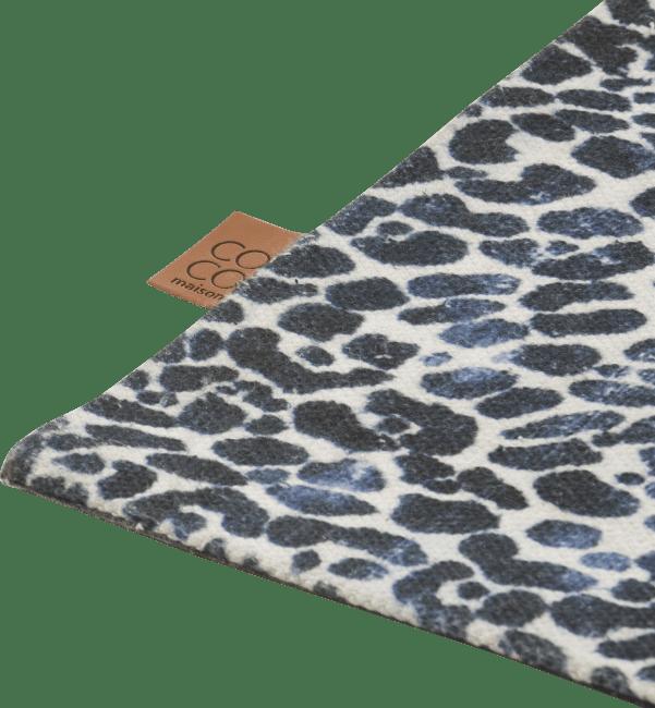 Coco Maison - tapis leopard - 90 x 150 cm - 100% polyester