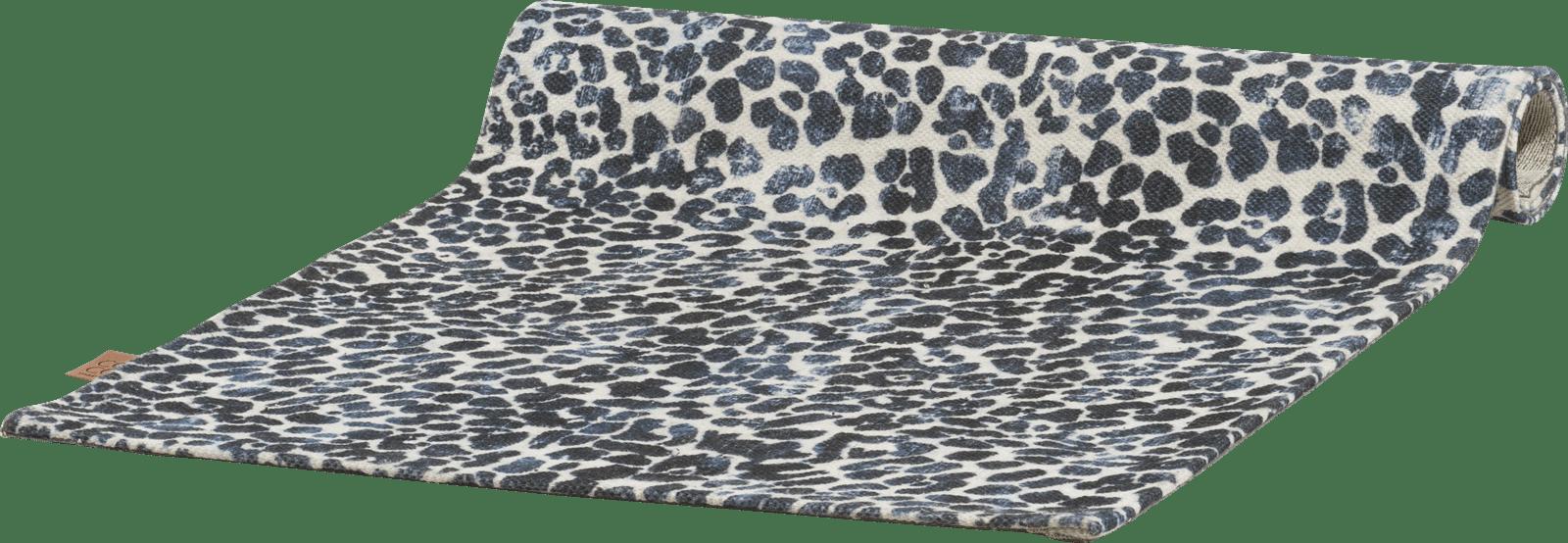 Coco Maison - karpet leopard - 90 x 150 cm - 100% polyester