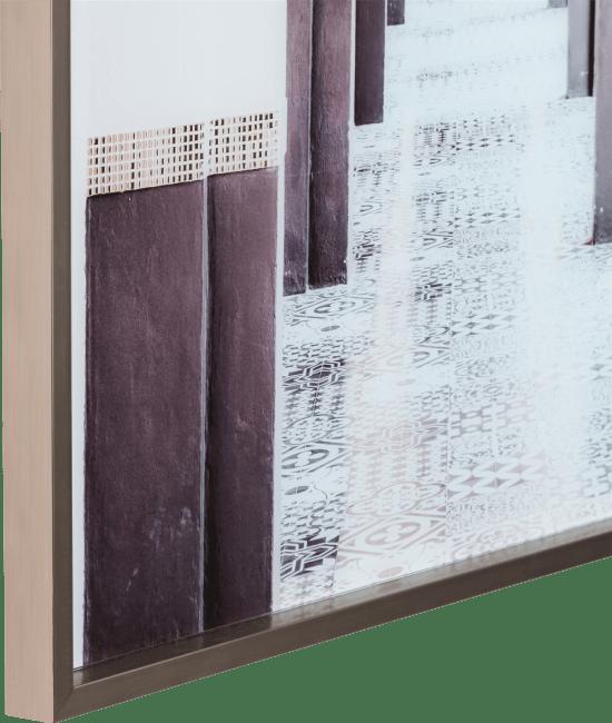 Coco Maison - wanddecoratie moroccan arches - 90 x 140 cm - print op glas