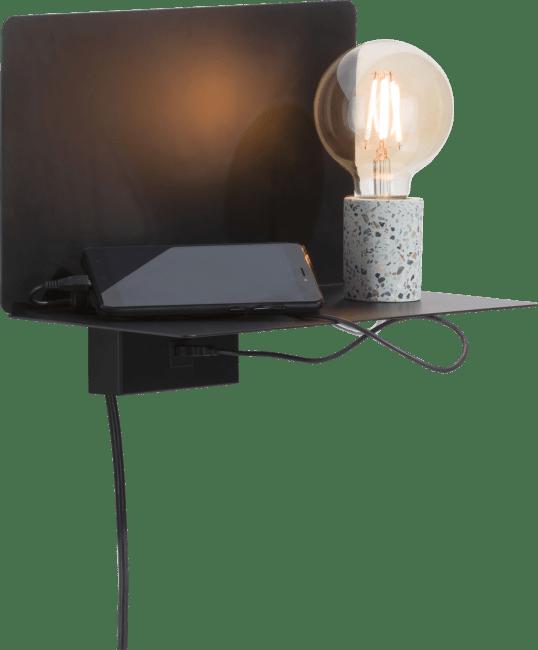 Coco Maison - omer, wandlamp & plank 1-lamp