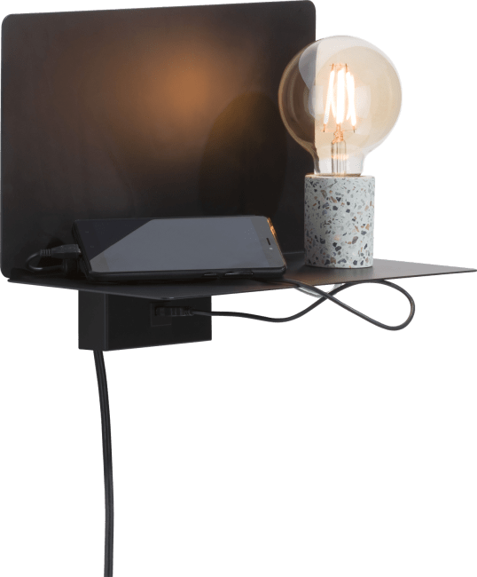 Coco Maison - omer, wandlampe & einlegebode 1-flammig