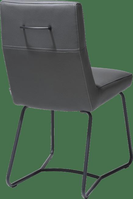Grant - dining chair - powdercoated frame - tube - tatra - uk spec
