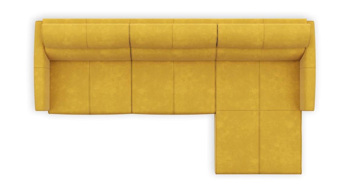 Patras - 2,5 Zits arm links - Longchair rechts