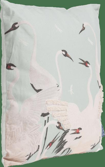 Coco Maison - kussen stork - 45 x 45 cm