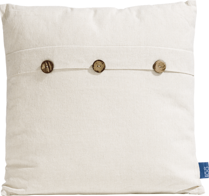 Coco Maison - cushion button 43 x 43 cm