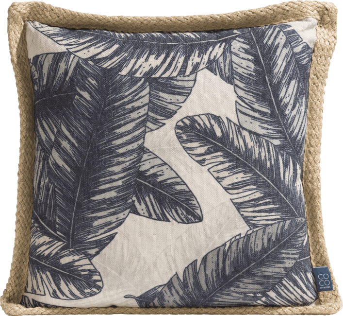 Coco Maison - cushion banana leaf 45 x 45 cm