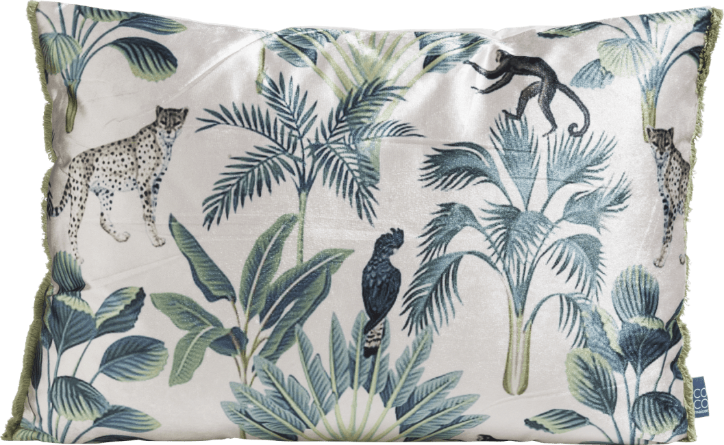 Coco Maison - coussin jungle 40 x 60 cm
