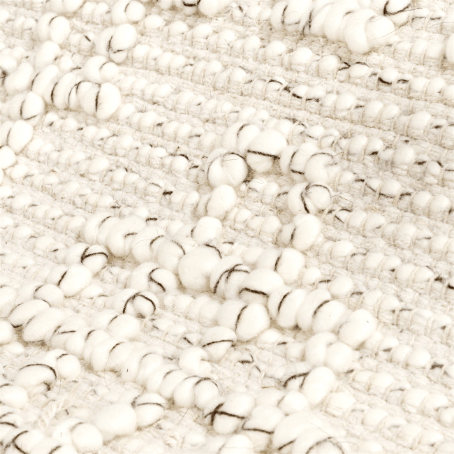 Coco Maison - teppich dominique - 190 x 290 cm - 40% jute / 30% polyester / 30% baumwolle