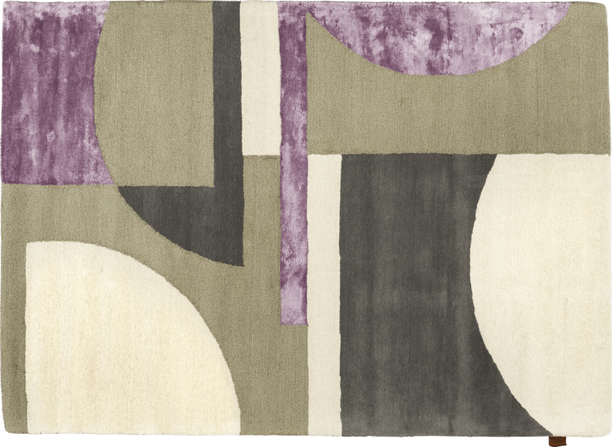 Coco Maison - teppich lilou - 160 x 230 cm - 80% wolle / 20% viscose