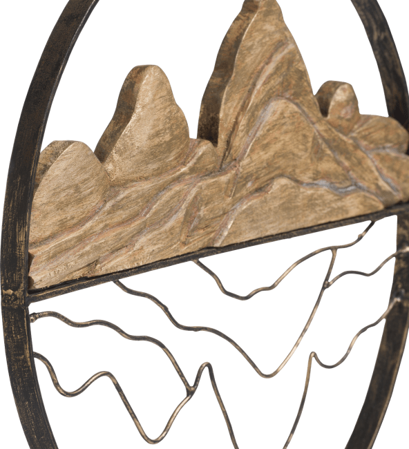 Coco Maison - beeld mountains - hoogte 52 cm