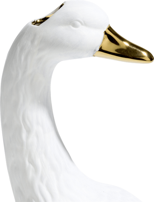 Coco Maison - vaas swan - hoogte 19,5 cm