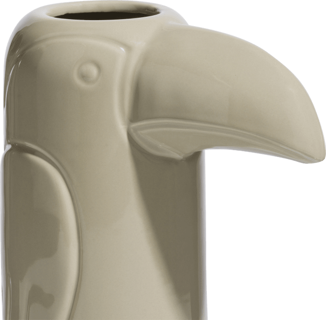 Coco Maison - vaas toekan medium - beige