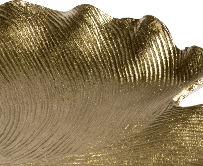 Coco Maison - schaal ginkgo large - hoogte 20 cm