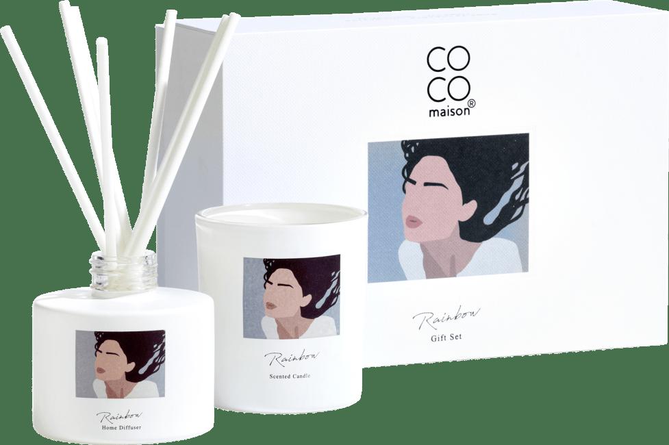 Coco Maison - geschenk set rainbow
