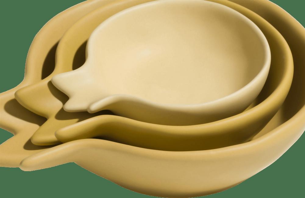 Coco Maison - bowl pomegranate set of 3