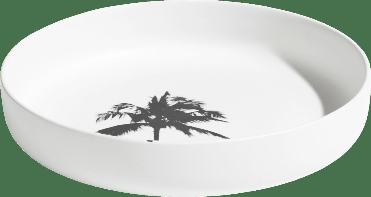 Coco Maison - bowl palm - diameter 29,8 cm