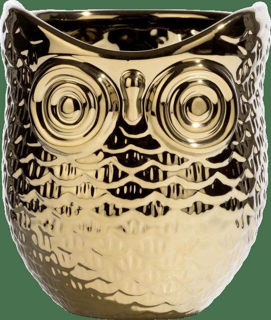 Coco Maison - vaas / pot owl - diameter 14 cm