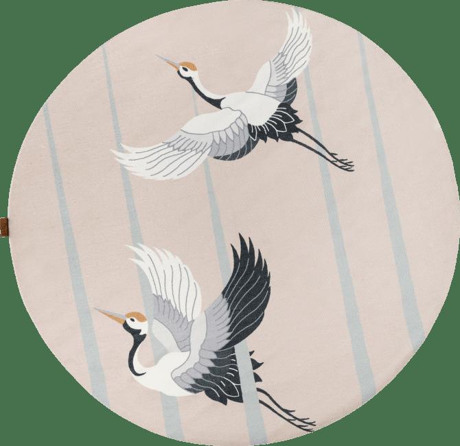 Coco Maison - carpet stork - diameter 150 cm - 100% polyester