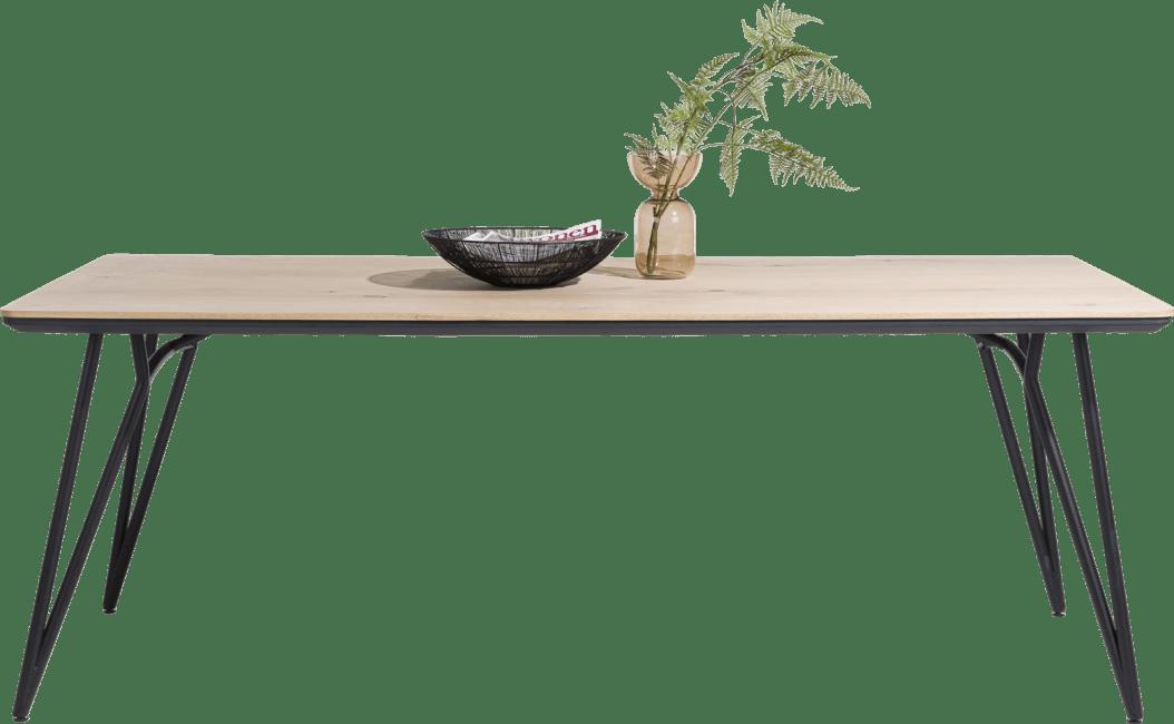 Vik - eetkamertafel 240 x 100 cm