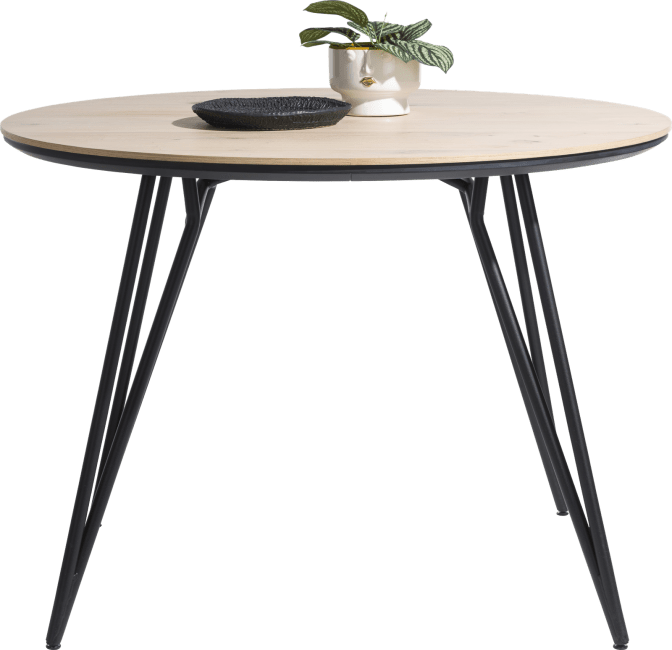 Vik - bartafel rond 150 cm. (hoogte: 92 cm.)