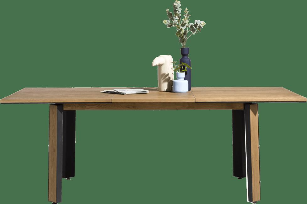 Moreni - uitschuiftafel 160 (+ 60) x 100 cm