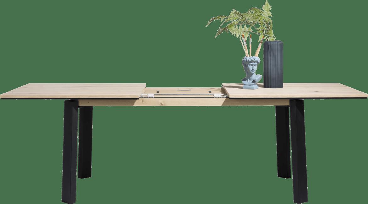 Moreni - uitschuiftafel 220 x 100 cm (+ 80 cm)