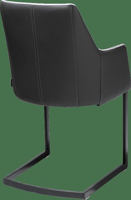 Giuliette - guiliette, armstoel zwart (rob) - kibo/tatra combi