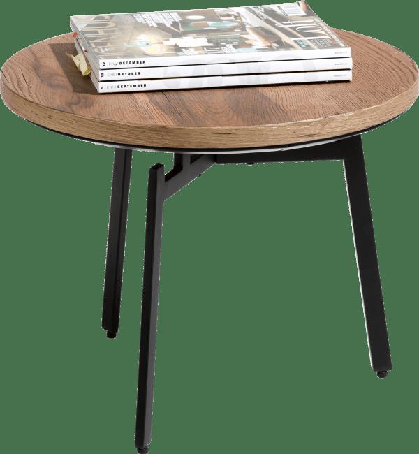 Halmstad - bijzettafel diameter 50 cm