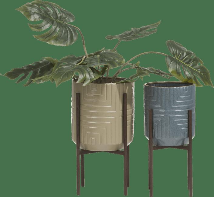 Coco Maison - set van 2 bloempotten rudy