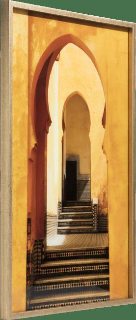 Coco Maison - schilderij marrakech - 70 x 100 cm - print op glas