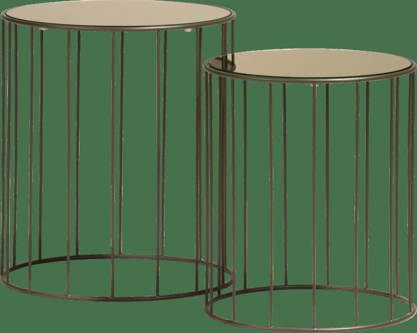 Coco Maison - beistelltisch randa - set von 2