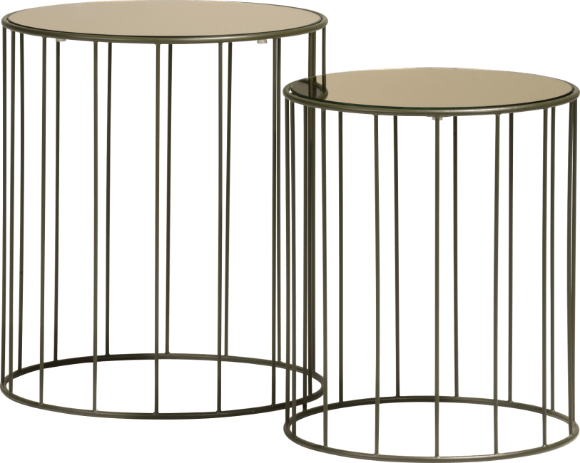 Coco Maison - bijzettafel randa - set van 2