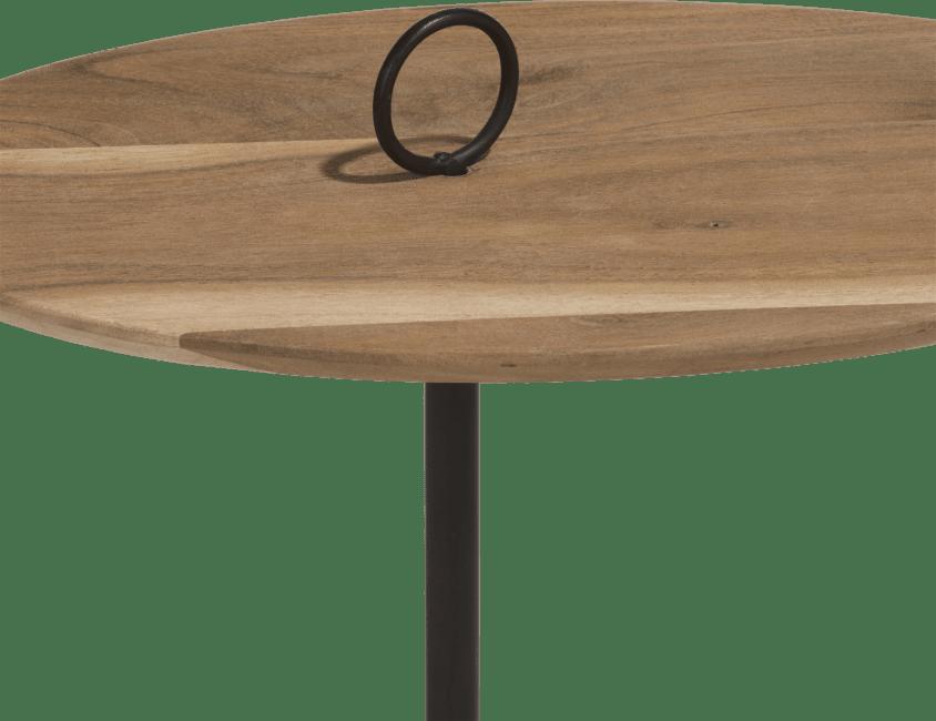 Coco Maison - bijzettafel nylah - set van 2 - hoogte 40 + 50 cm