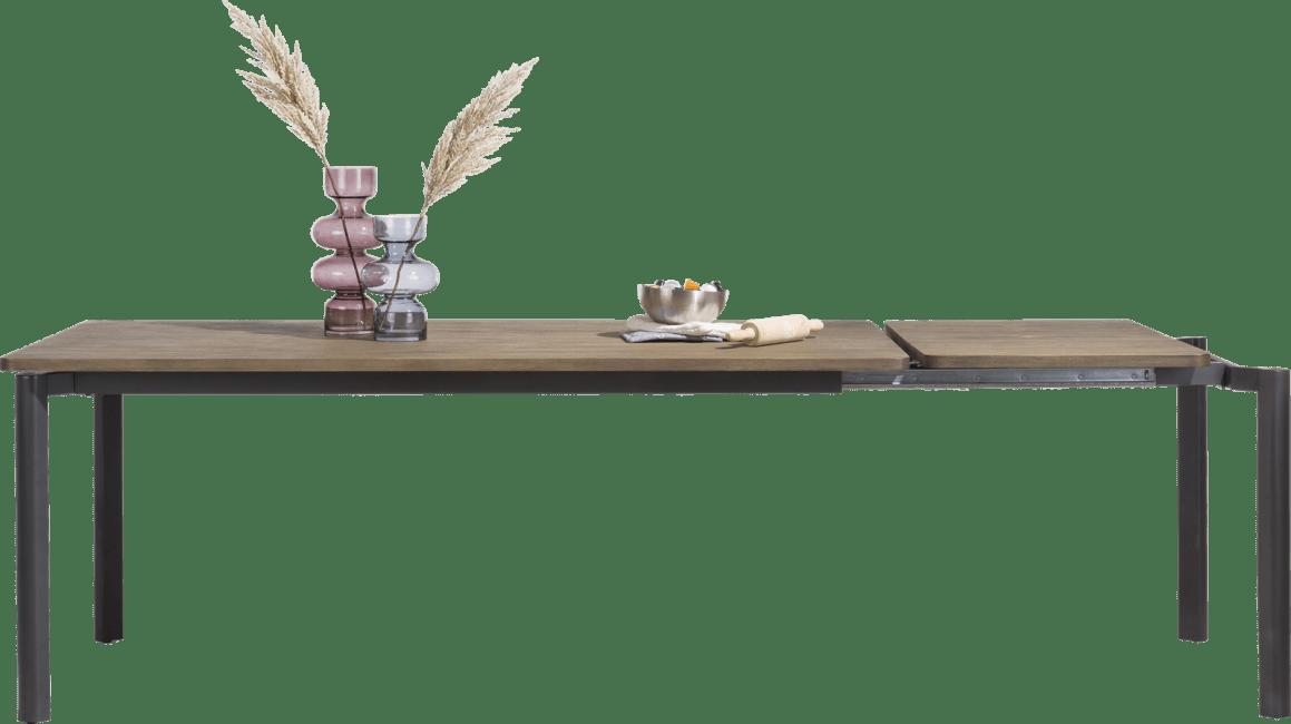 Shirley - uitschuiftafel 160 (+ 60) x 100 cm