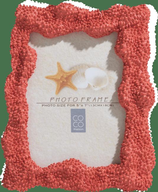 Coco Maison - fotolijst coral 18 x 23 cm