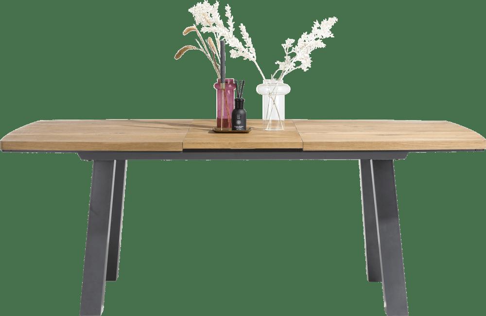 Arizona - uitschuiftafel 160 (+ 50) x 105 cm
