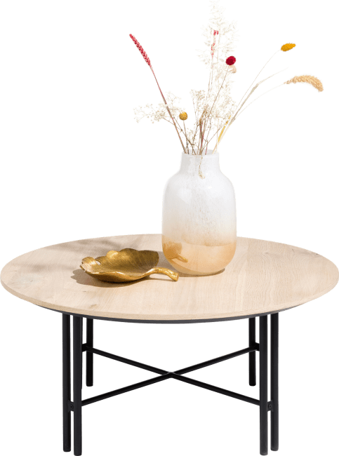 Vik - salontafel rond 80 cm