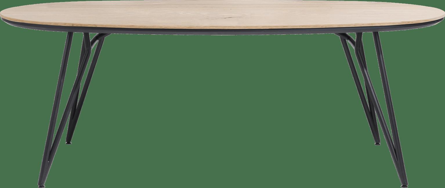 Vik - eetkamertafel ovaal 220 x 120 cm