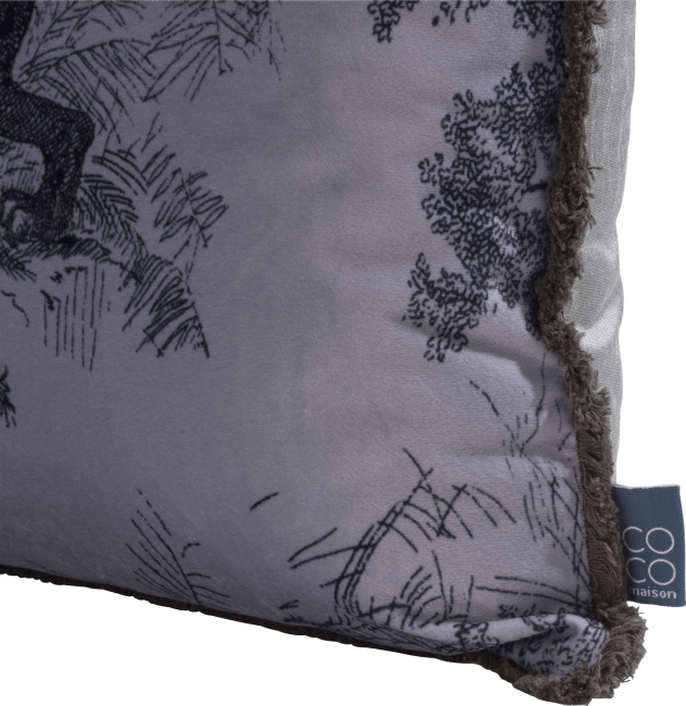 Coco Maison - kussen safari 30 x 50 cm