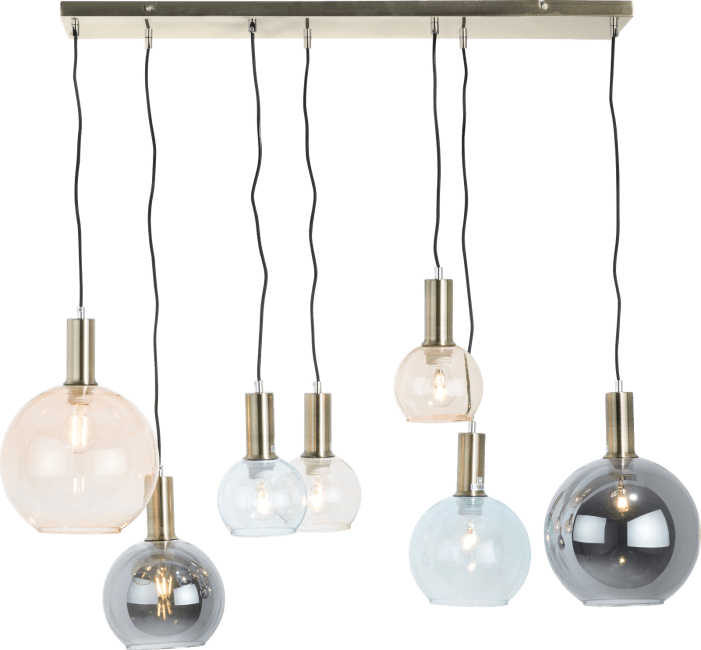Coco Maison - gaby, hanglamp 7-lamps