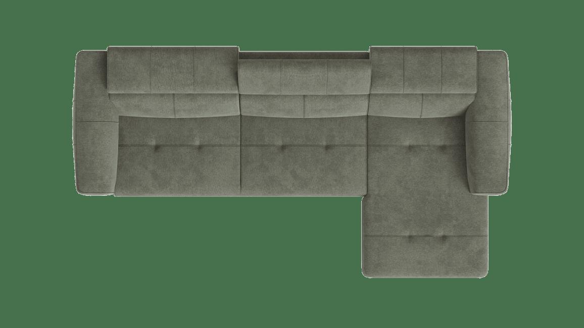 Talisman - 3-places accoudoir gauche