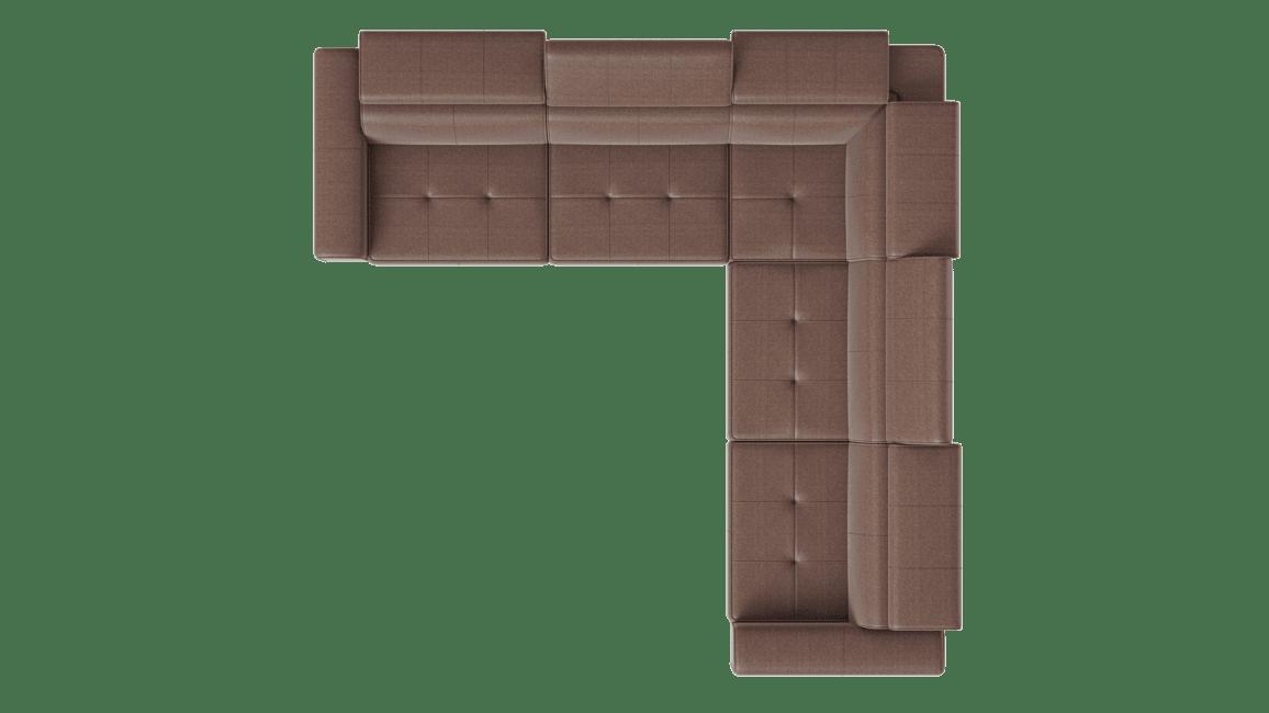 Torbay - 3 places accoudoirs gauche - partie d'angle - 3 places accoudoirs droit