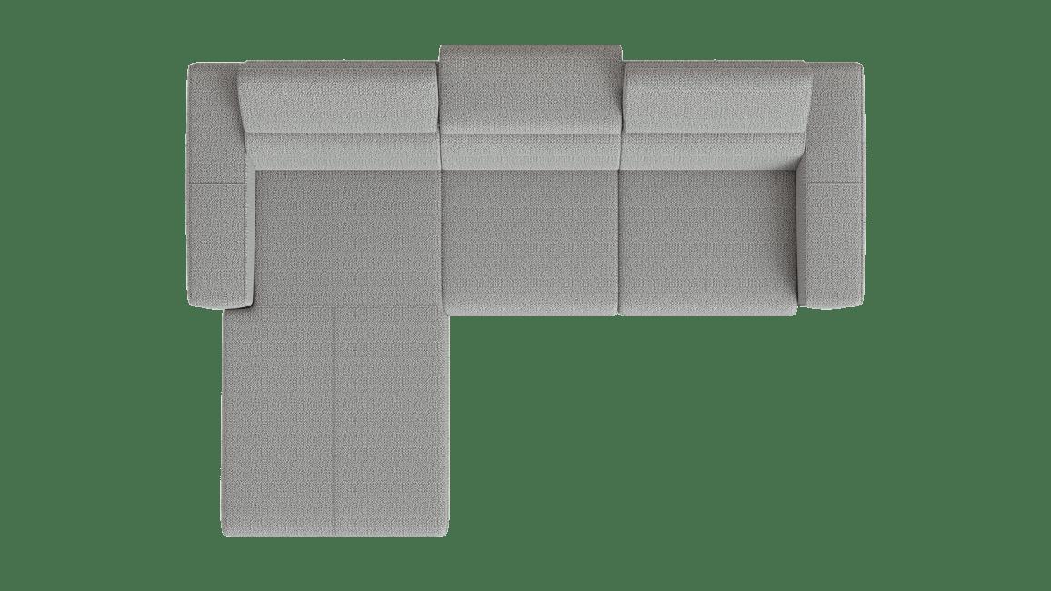 Urban - Longchair Links - 2,5 Sitzer Armlehne Rechts