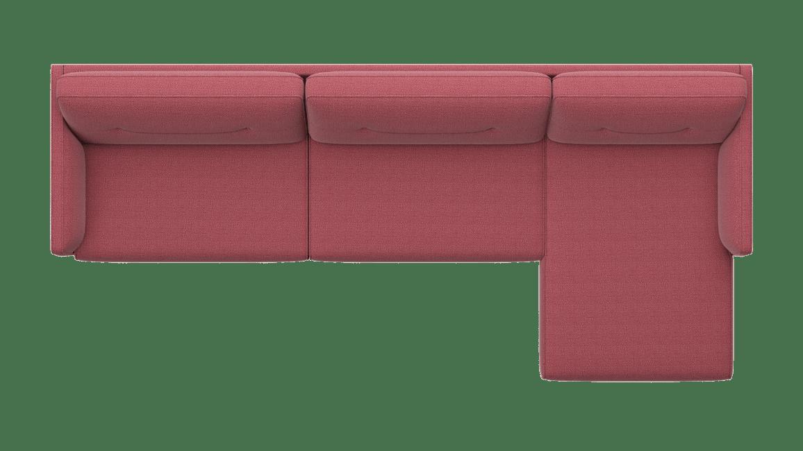 Cordoba - 3,5 Sitzer Armlehne links - Longchair rechts