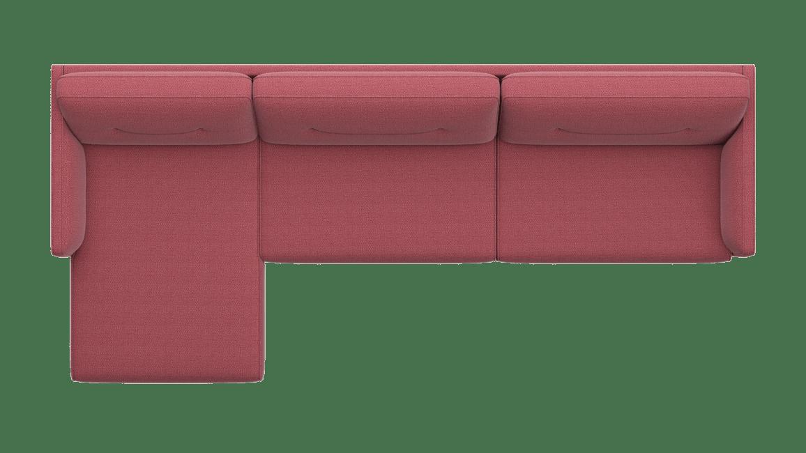 Cordoba - Longchair links - 3,5 Sitzer Armlehne rechts
